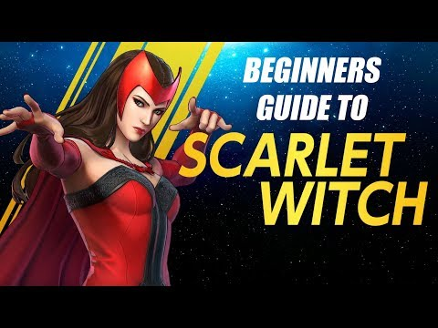 Scarlet Witch Beginners Guide - Marvel Ultimate Alliance 3 (MUA3)