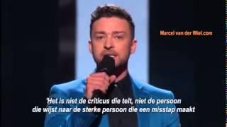 Justin Timberlake Innovation Speech