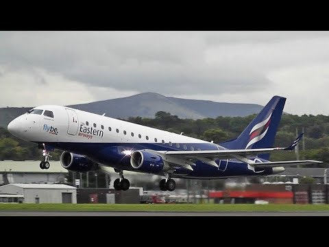 Eastern Airways E170 G-CIXV (opf Flybe) at Edinburgh Airport