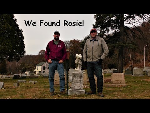 We Found Rosie! ~ Haunted Aulenbach Cemetery, Reading PA
