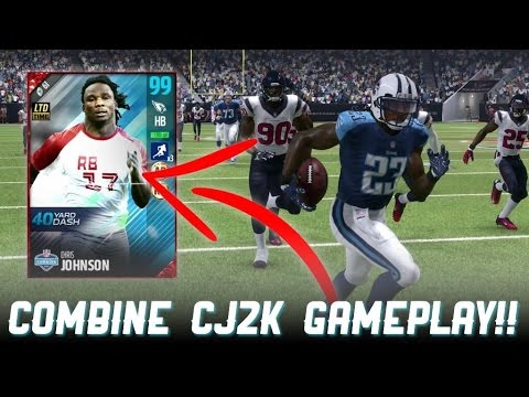 THE FASTEST PLAYER IN MADDEN!! 99 SPEED CHRIS JOHNSON!! - Madden 17 Ultimate Team
