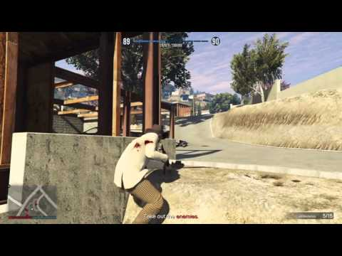 How To Start a Gang Attack - Gta 5 online