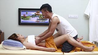 Korean Abdominal Massage Therapy Techniques for Glowing Skincare Routine and Relieving Stress thumbnail