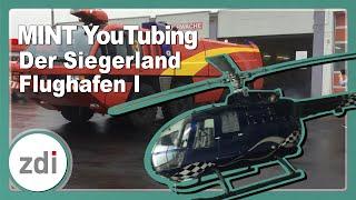 Der Siegerland Flughafen • MINT-YouTubing im zdi-Zentrum Kreis Siegen-Wittgenstein