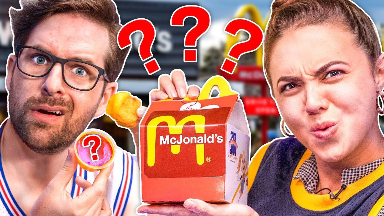 Mystery McDonald's Challenge!