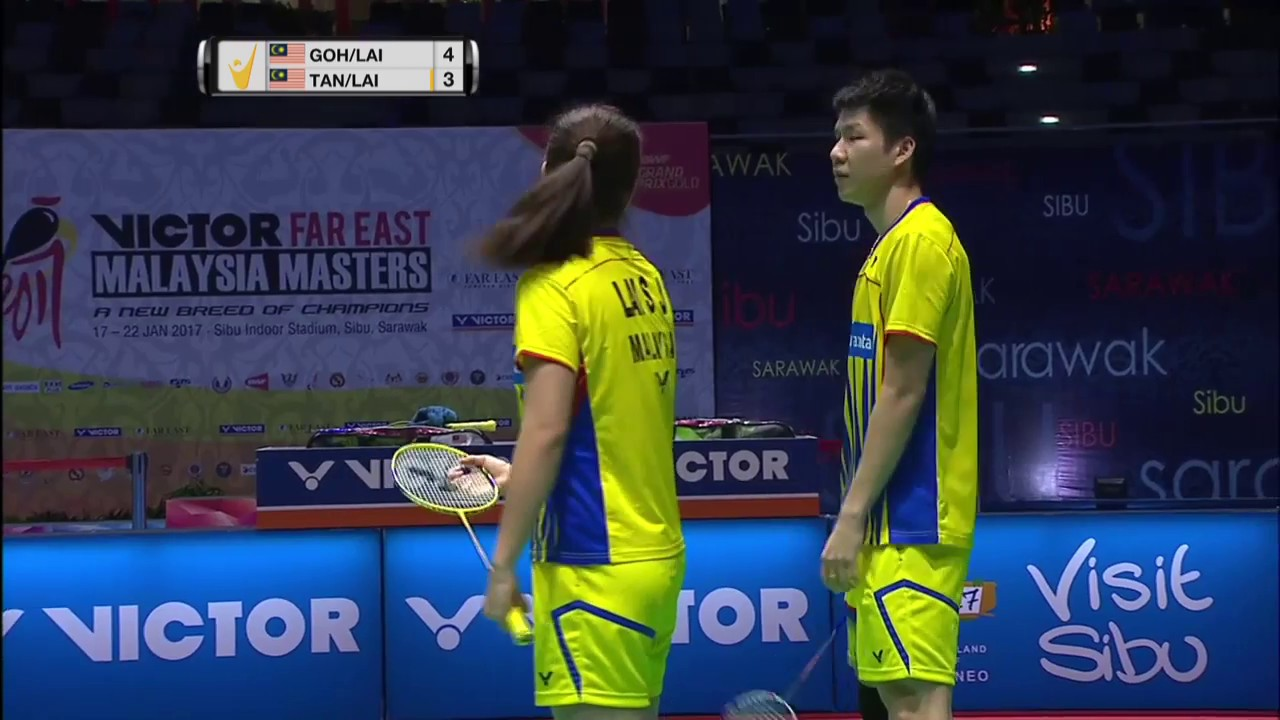 Victor Far East Malaysia Masters 2017 Badminton F M3 XD