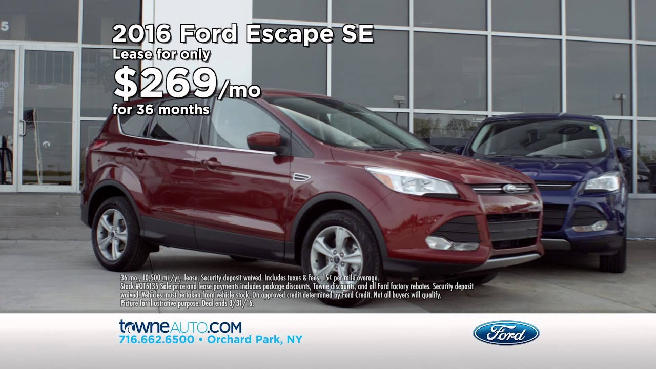 TV and Print Ads   Towne Ford