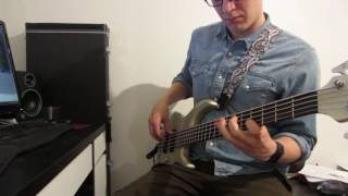 Marillion - Childhood's End bass cover