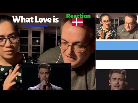 "ESTONIA | Uku Suviste -""What Love Is"" | Eurovision 2020 | REACTION | Denmark | Danish Reaction"