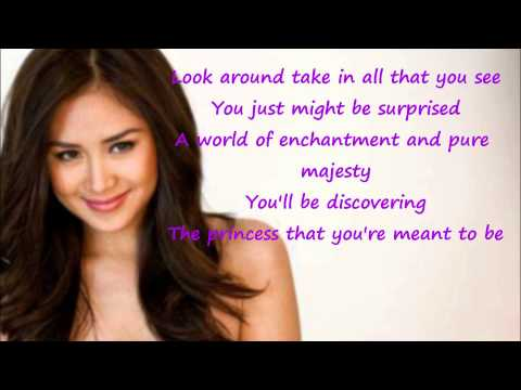 Sarah Geronimo - The Glow Lyric Video