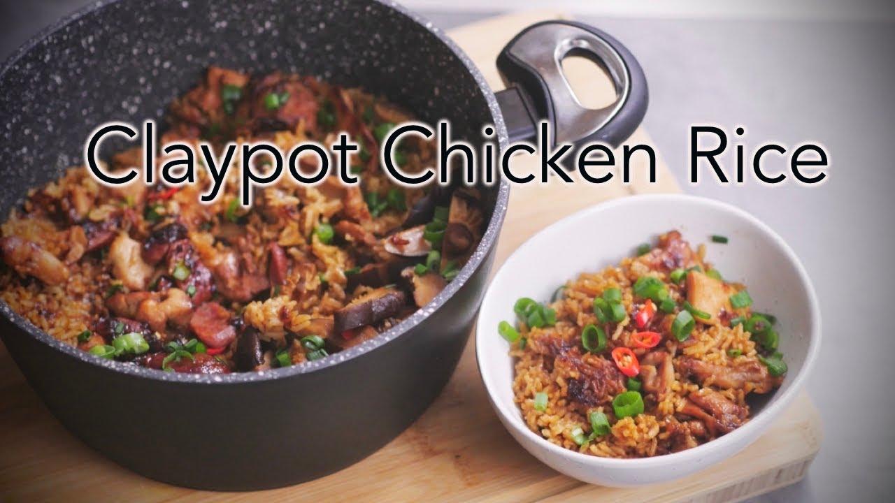Claypot Chicken Rice No Claypot No Rice Cooker Youtube