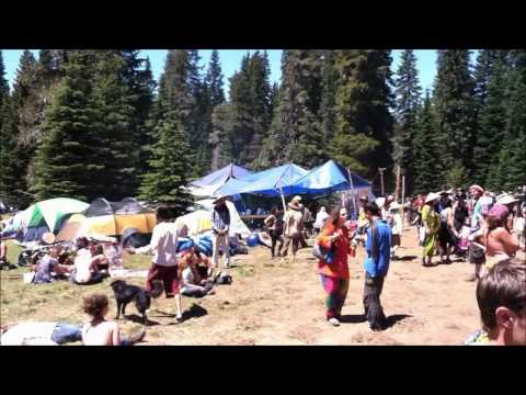 Rainbow Family Gathering 2011 Washington.wmv