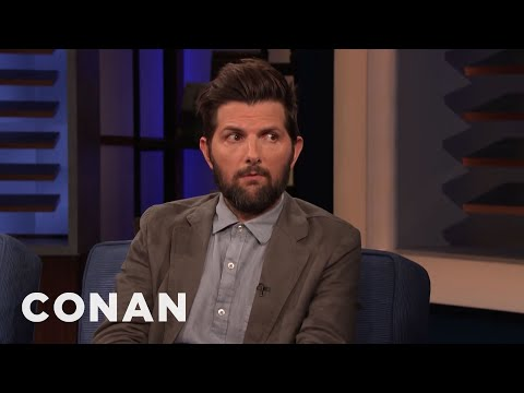 Adam Scott Always Looks Pissed - CONAN on TBS