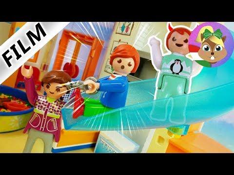 Playmobil Film Magyar  Új csúzda az oviban  Ovis gyerekek és Julian  Gyereksorozat   Vogel
