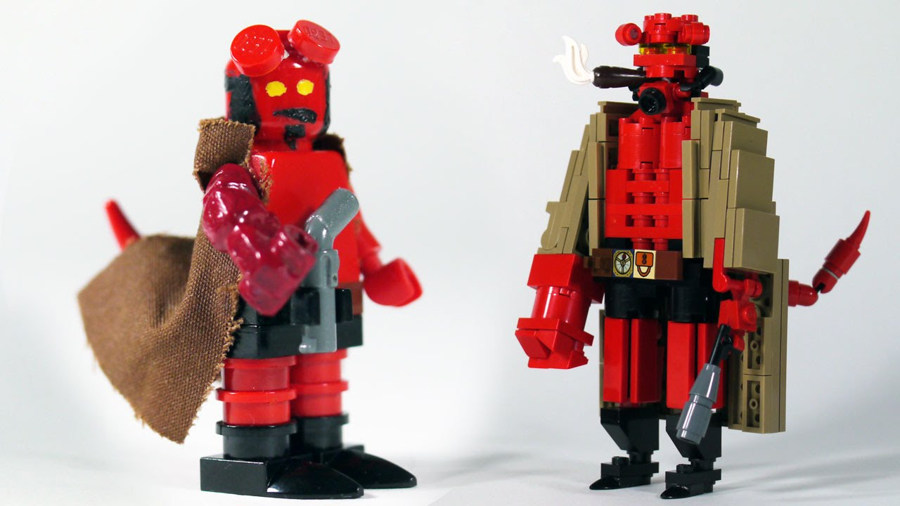 How to build lego hellboy youtube