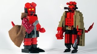 How To Build Lego Hellboy