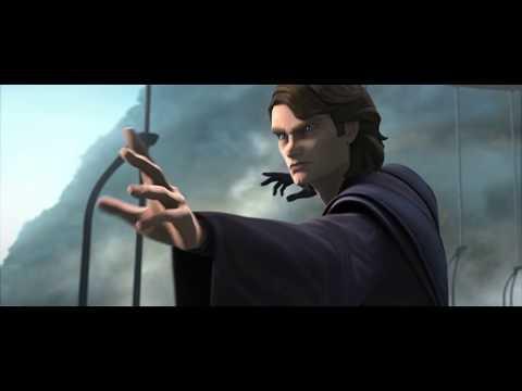 Anakin Saves Obi Wan Star Wars The Clone Wars Season 7 Episode 9 Youtube