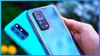 ¡SALTAN CHISPAS! Mi 10T Pro vs OnePlus 8T