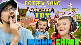 NEW FGTEEV SONG - TOY STORY MODE & Forky in MINECRAFT Game (RAP Music Video by GumaGa)