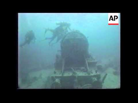 """EGYPT: RED SEA:  SCUBA DIVING AT WRECK OF THE """"S.S. THISTLEGORM"""""""