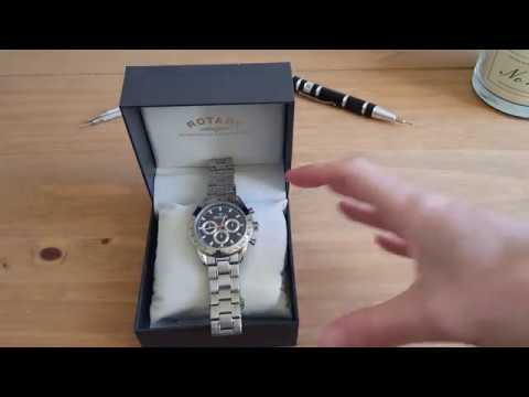 Rotary Aquaspeed (GB00007/04) Chronograph - Watch Unboxing