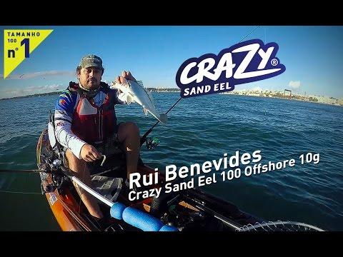 Rui Benevides - Crazy Sand Eel 100 Offshore 10g
