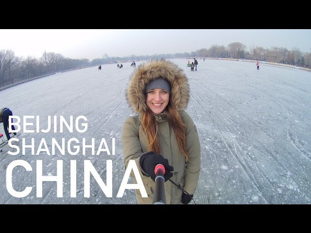 TRAVEL VLOG   Stedentrip naar Beijing & Shanghai (in de winter!) • China