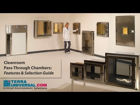 Laboratory & Cleanroom Pass-Throughs