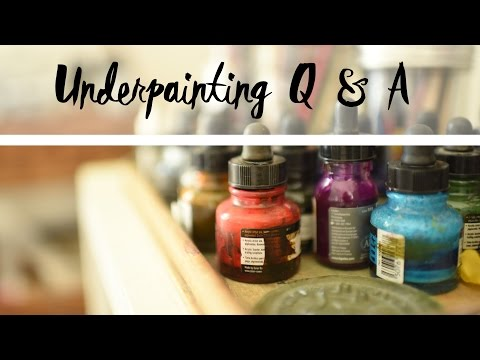 Question & Answer! Alcohol Wash vs. Acrylic Inks - Artist Questions with Bethany Fields