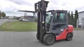 Diesel forklift Stapler 3500 kg Toyota 8FDJF35 from 2010 = D3441