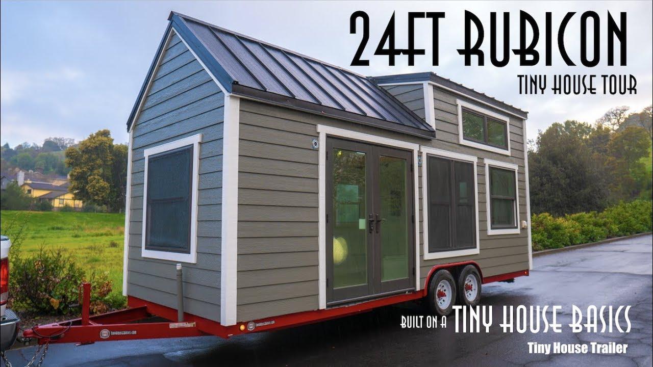 Elegant Tiny House On Wheels Built For Full Time Living