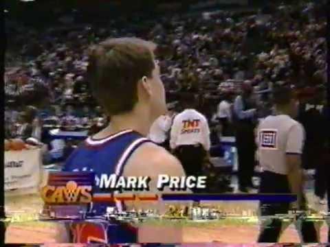 1994 NBA Long Distance Shootout Finals: Price vs Barros