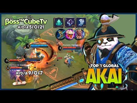 Imperial Assassins Crazy Gank Nonstop! βöss™CubeTv Top 1 Global Akai ~ Mobile Legends