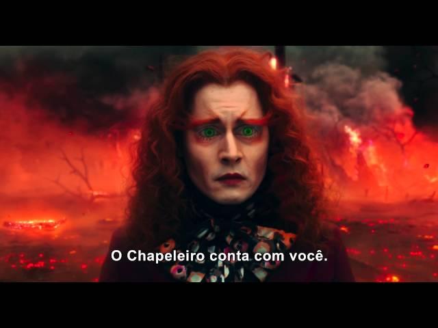 Johnny Depp Volta A Viver Chapeleiro Maluco Em Alice Através Do