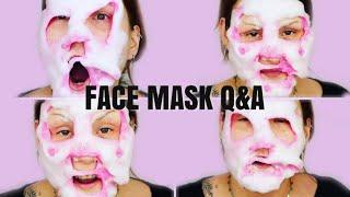 2yr YouTube Anniversary Q&A + Bubble Mask - Complete Fail !!