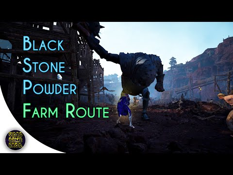 Black Desert Online - How to Farm 1400+ Black Stone Powder per Hour - Plus Other Nice Items