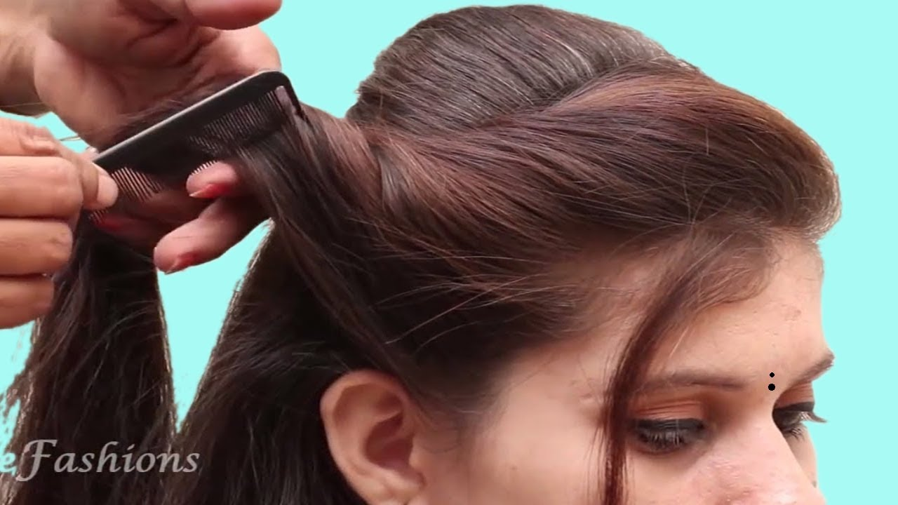 diy simple & easy hairstyles tutorials  quick hairstyles videos  hair  style girls