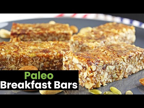 Paleo Breakfast Bars: Flavor Packed Bars to Start the Day with!
