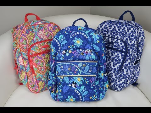 Campus Backpack Bag Review Vera Bradley Youtube