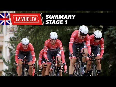 Summary - Stage 1 - La Vuelta 2017