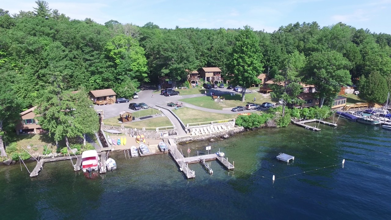 Short video of CANDLELIGHT COTTAGES Lake George NY lake front