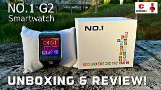 NO.1 G2 Smartwatch - [Unboxing, Review & Giveaway!] - Coolicool.com