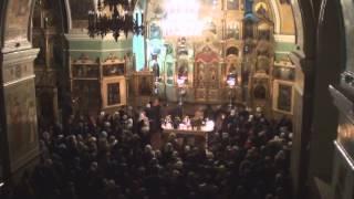 пасхальная служба(Пасхальная служба в Успенском Соборе г.Бийск., 2015-04-13T06:06:05.000Z)