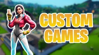 CUSTOM GAMES (IKKE FIGHT FØR 3. ZONE) // CODE GEANZHA I ITEM SHOP