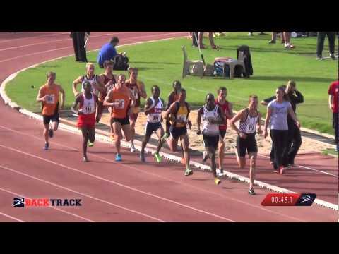 USSA 2014 - Men's 800m Final