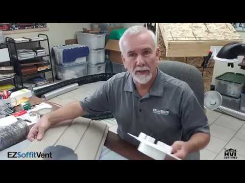 Ez Soffit Vent Overview Brought To You By Panasonic Youtube