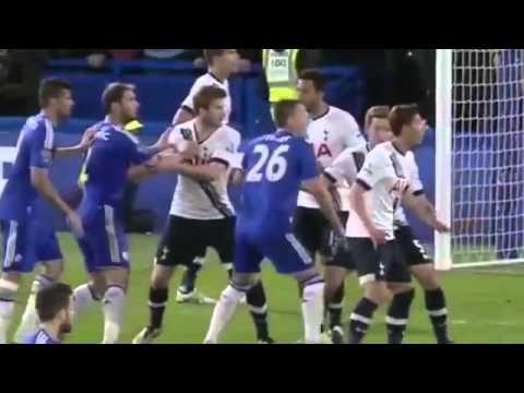 All Goals  Chelsea Vs Tottenham Hotspur 2 –  2     *2 5 2016HD