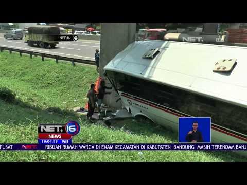 Kecelakaan Terjadi di Ruas Tol Cikampek - NET16