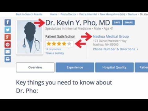 Establishing a Physician's Online Reputation