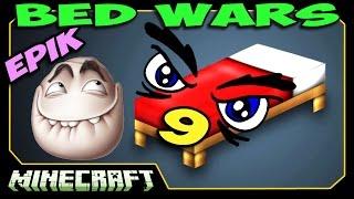 ч.09 Bed Wars Minecraft - Я сошёл с ума! (Маньяк с Киркой!)